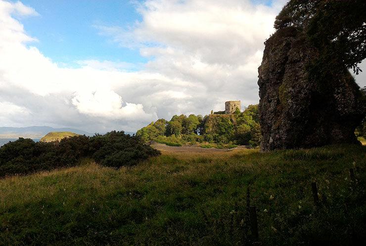 castello di dunollie oban