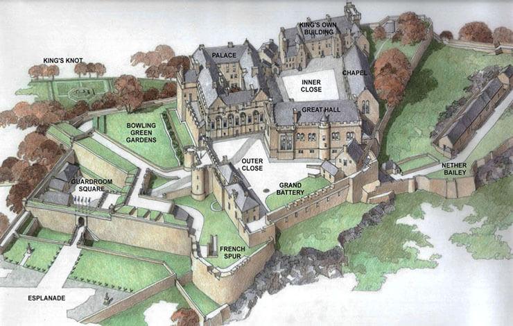Il Castello Di Stirling Lorenzo Manara