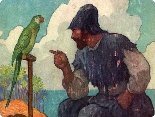 Illustrazione di N.C Wyeth [1920]