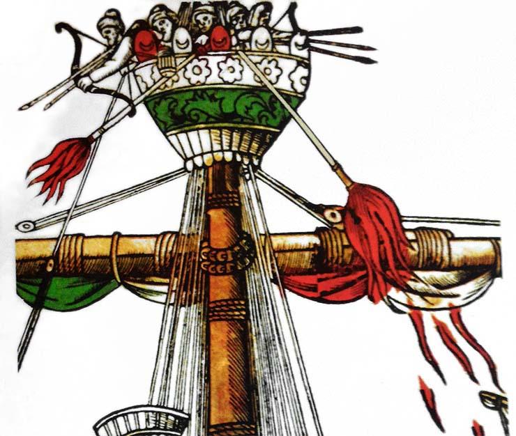 lanciafiamme medievale