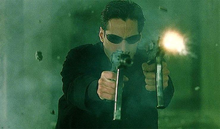 combattere con due armi matrix