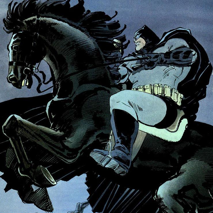 il ritorno del cavaliere oscuro cavallo