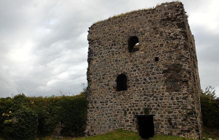 il castello di dunollie