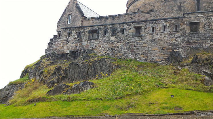 castello di edimburgo porta di foog