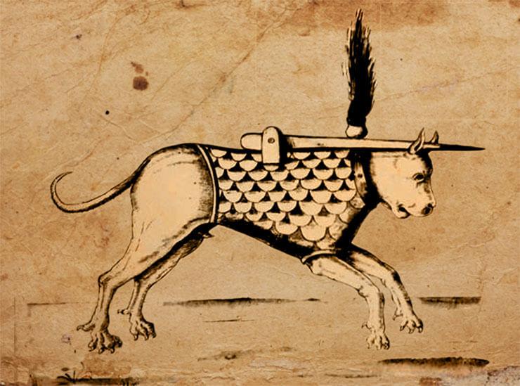 cane incendiario guerra