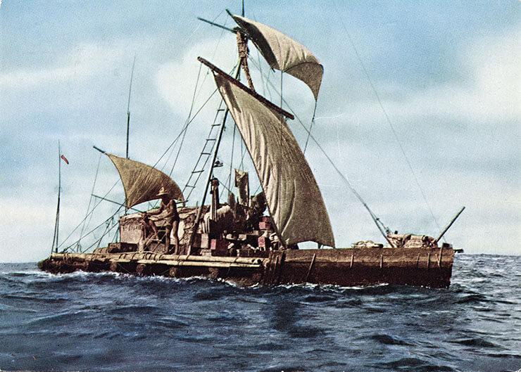 kon tiki la zattera che attraversò l'oceano pacifico