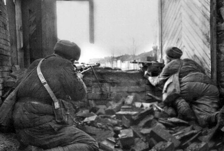 sergente Pavlov e la difesa del palazzo di Stalingrado