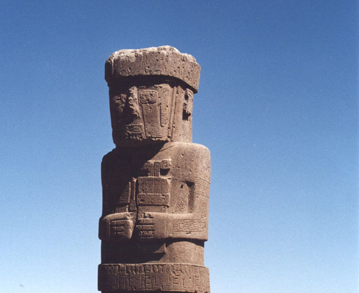 tiahuanaco o tiwanako la città di pietra precolombiana