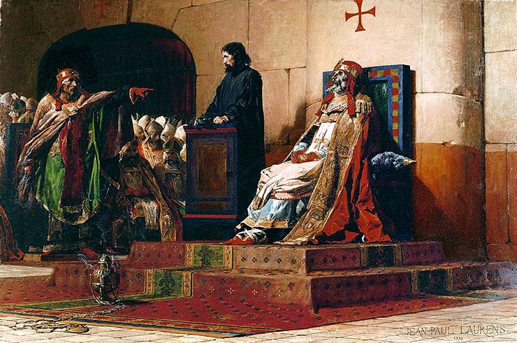concilio cadaverico processo papa morto