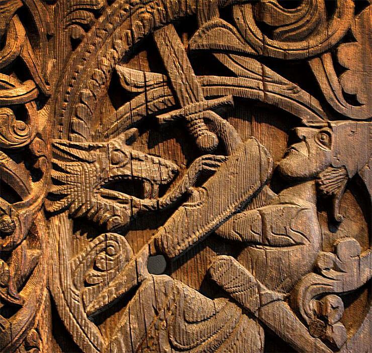 Il drago vichingo nella mitologia norrena
