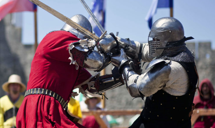 sport da combattimento medievale