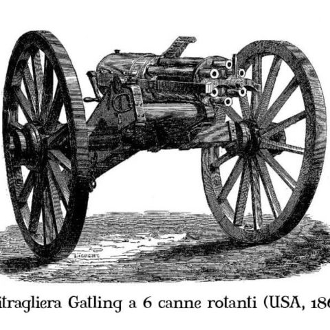 mitragliatrice gatling