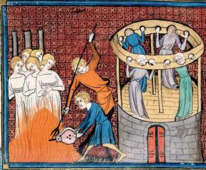 tortura medievale streghe