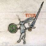 animali antropomorfi bestiario medievale